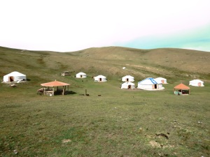 View of the camp.