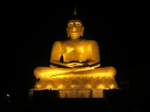 The Buddha statue!