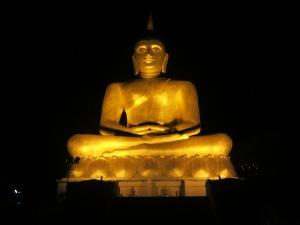 The Buddha statue!