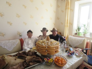 Hats are very important on Tsagaan Sar!