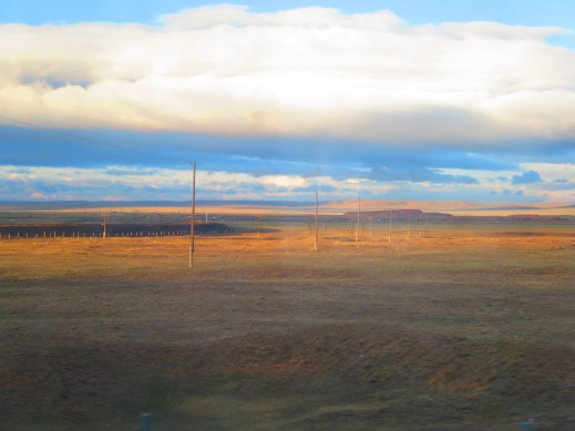 Amazing the sights you can see on a single train ride in Mongolia!