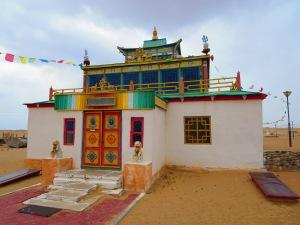 Restored monastery.
