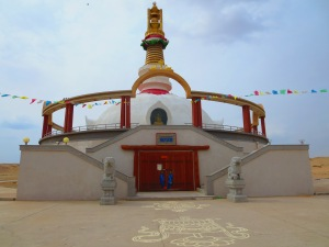 The main stupa houses many intricately carved murals of Buddhist deities.